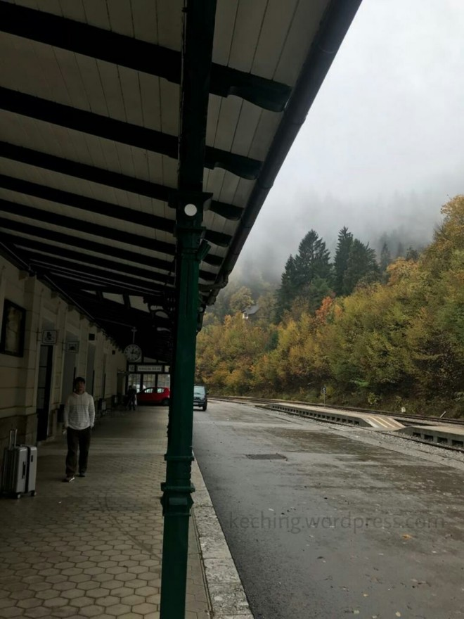 lake bled train station
