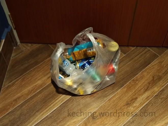 blue recycling bin singapore