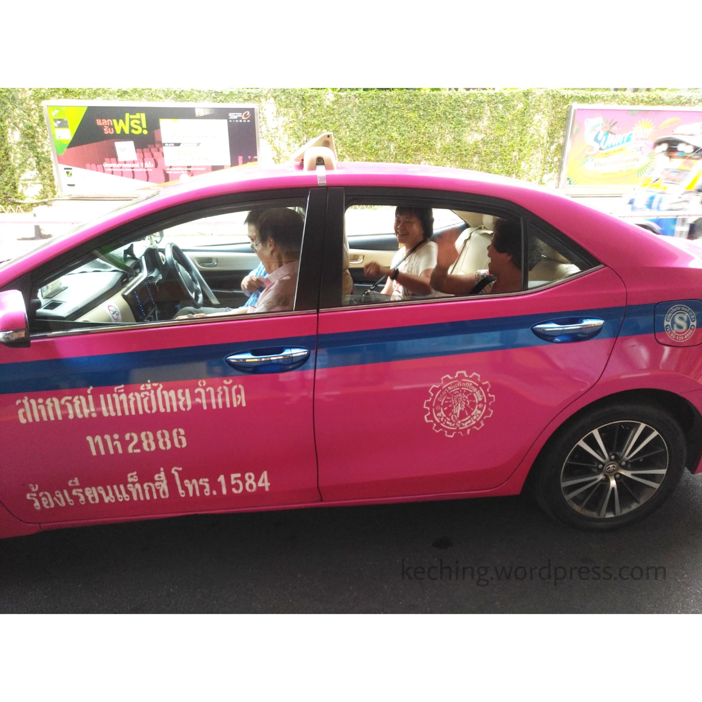 pre book taxi bangkok airport