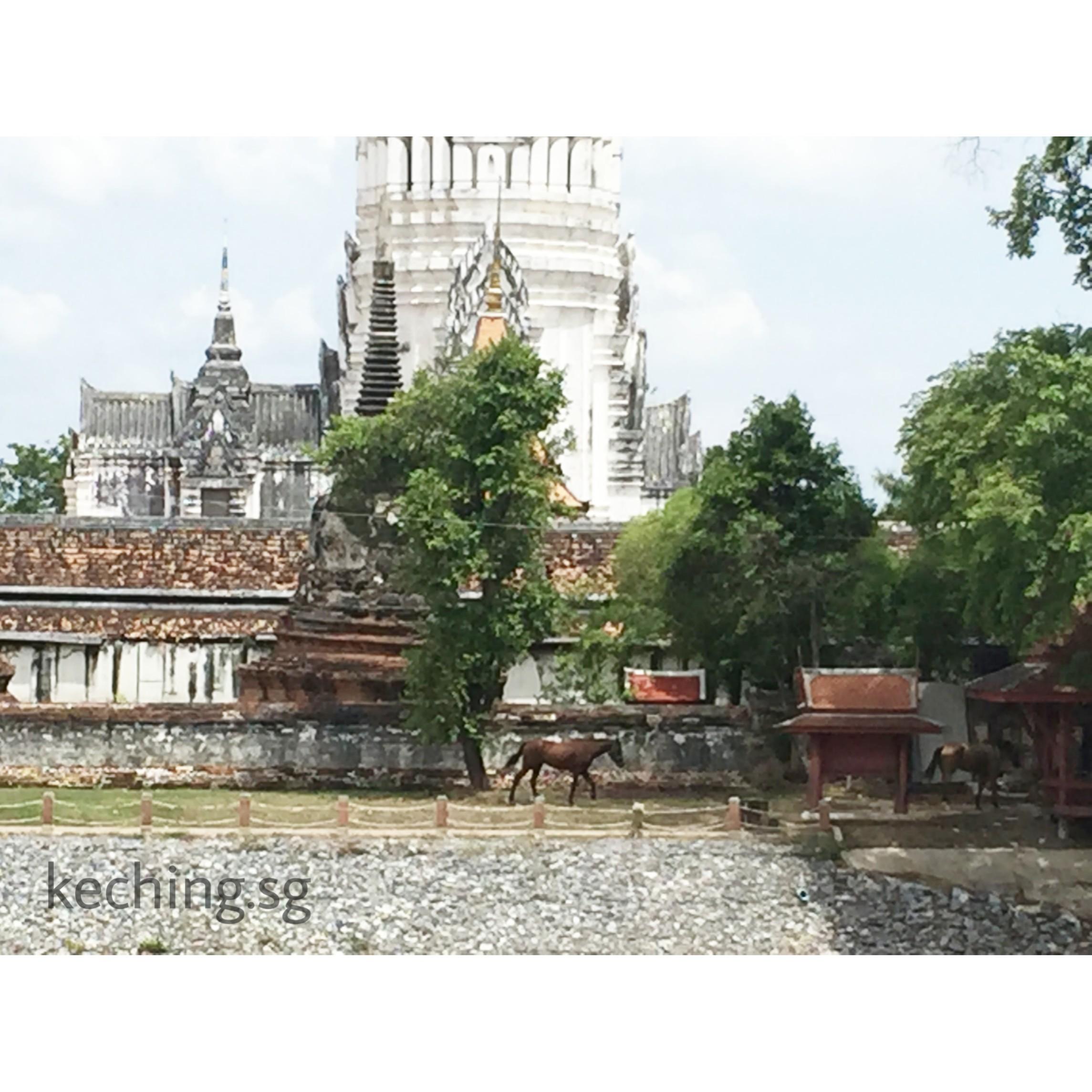 sala ayutthaya river view