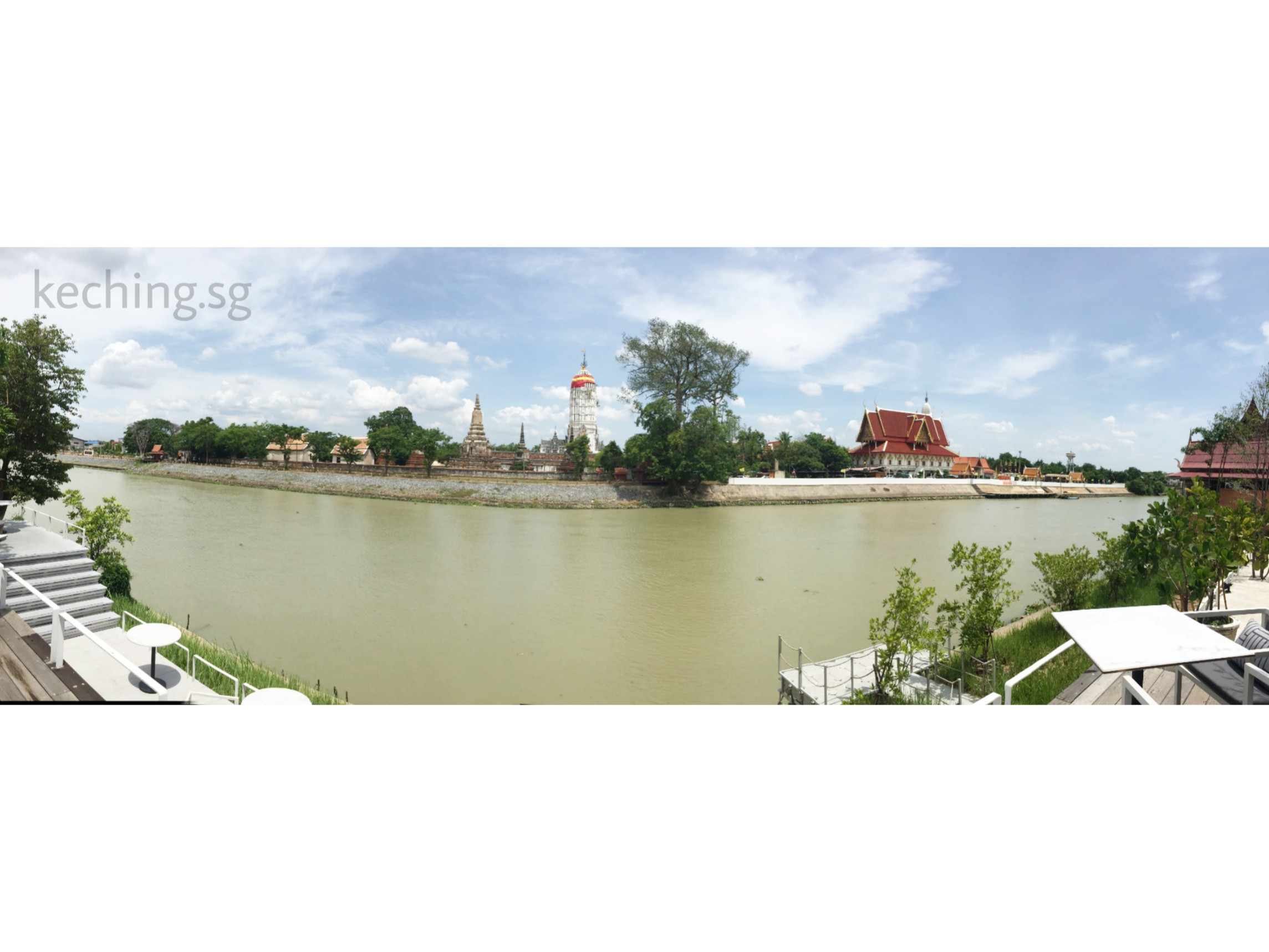 sala ayutthaya river view