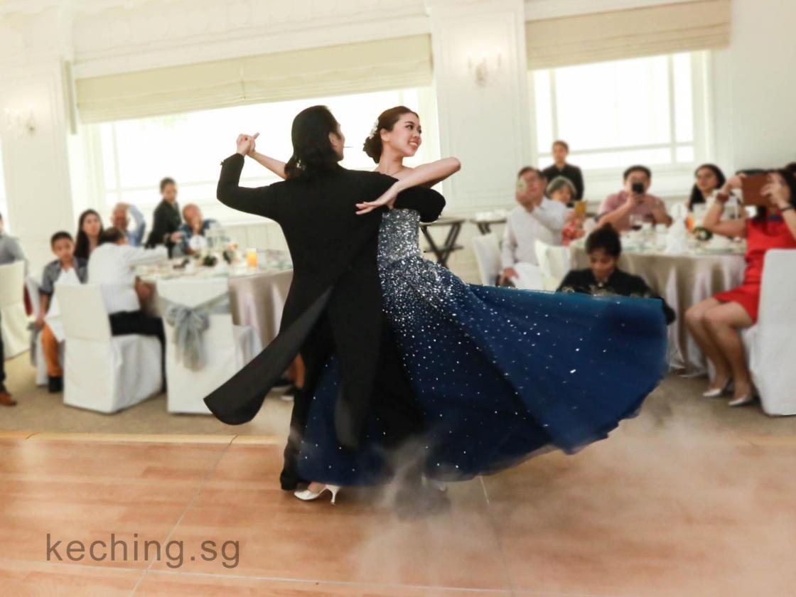 wedding first dance singapore