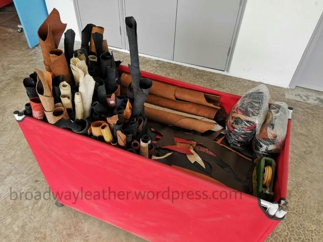 leather scraps singapore