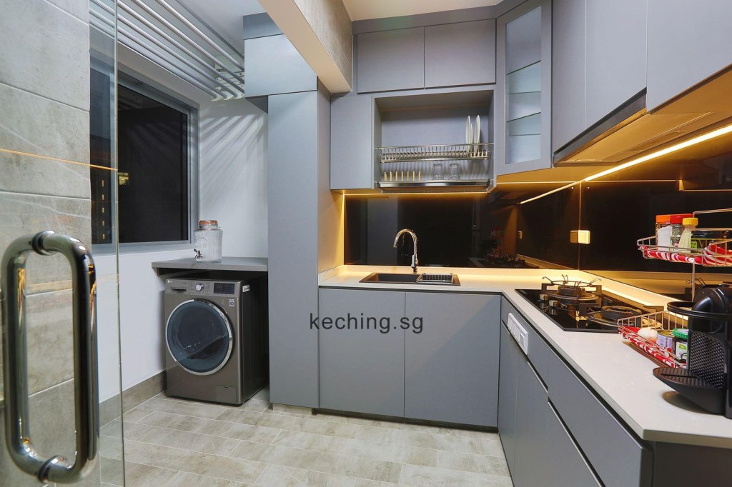 kitchen cabinet design singapore