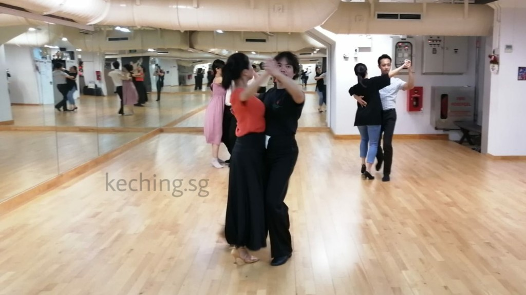 dance classes for couples singapore