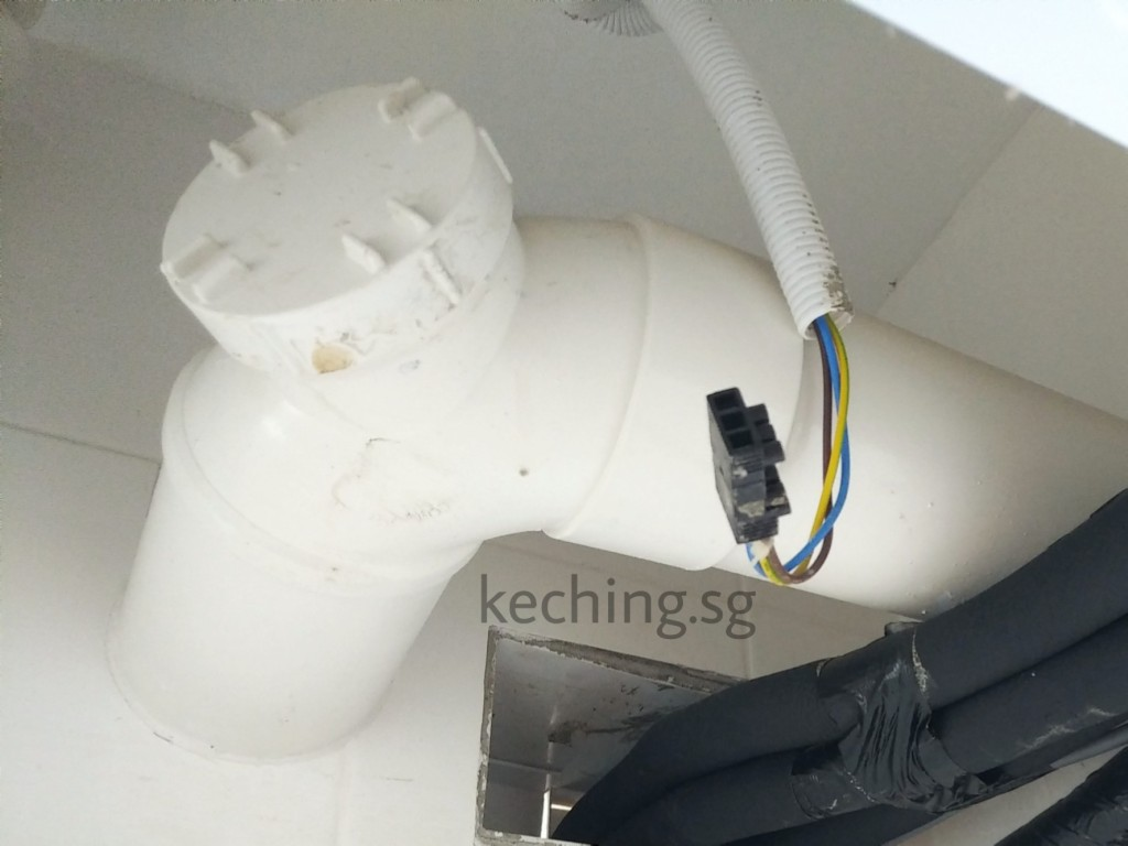 hdb toilet pipe leaking