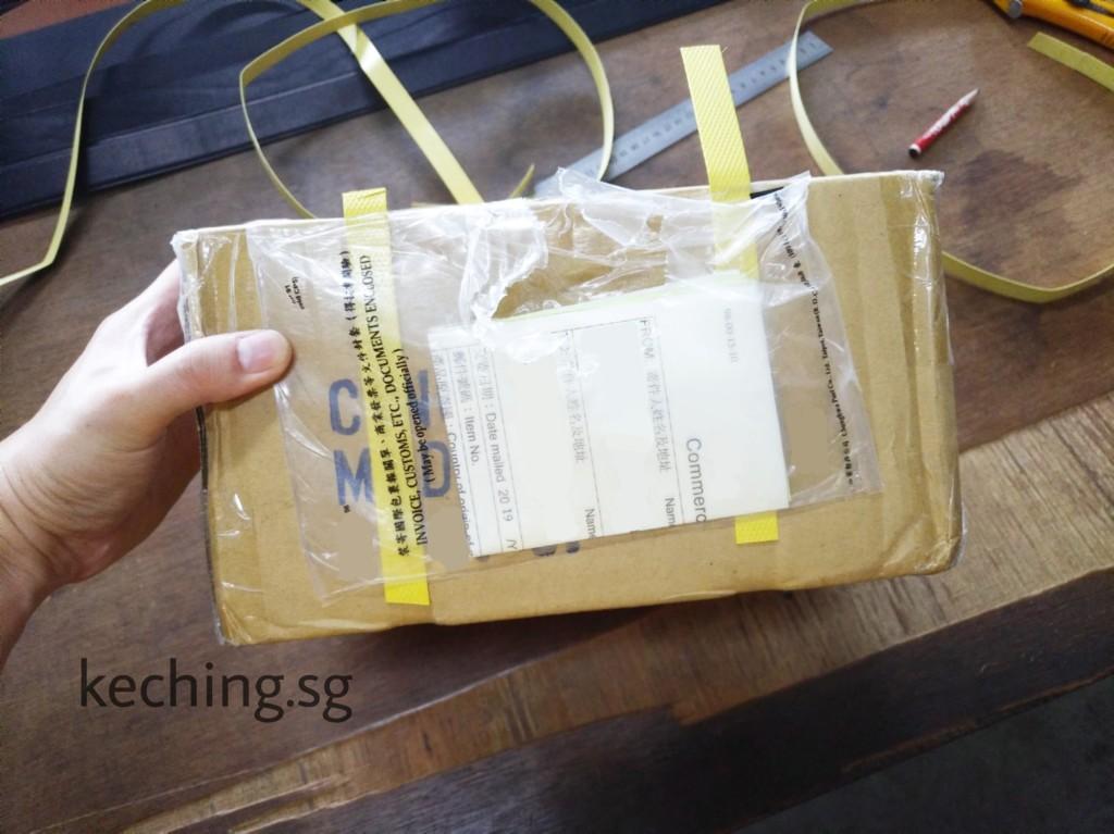 speedpost lost my parcel