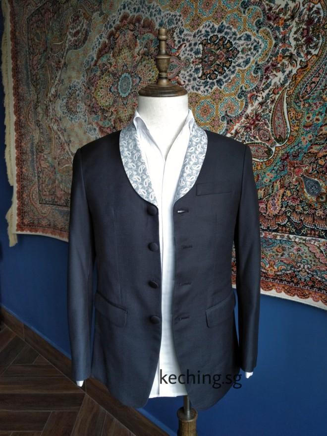 4 button suit