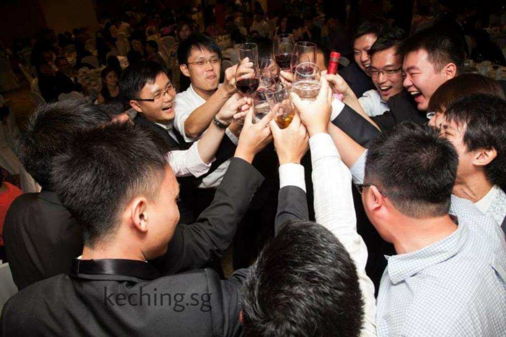m hotel wedding banquet
