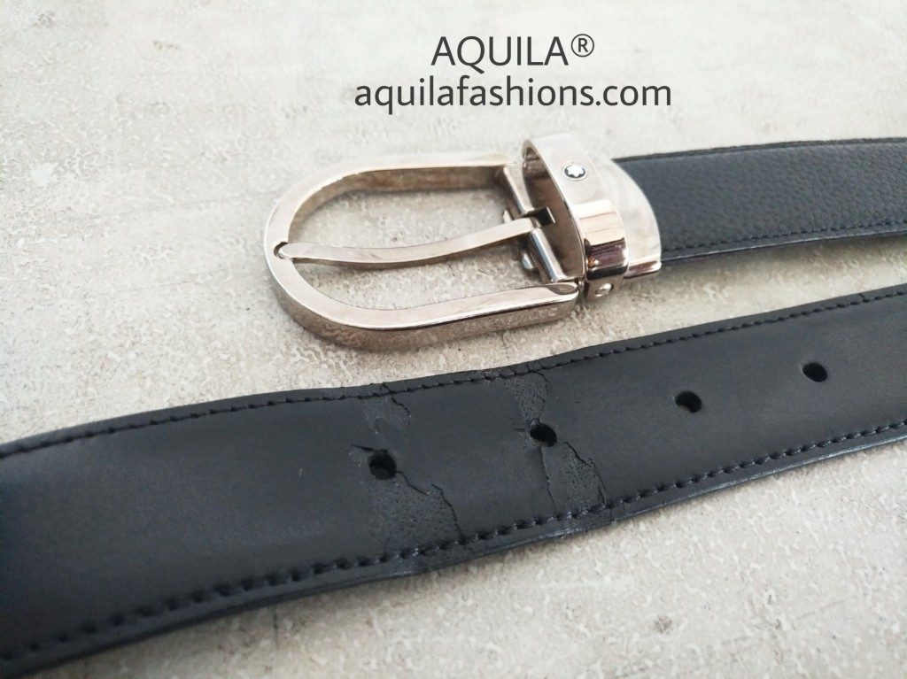 montblanc belt strap replacement
