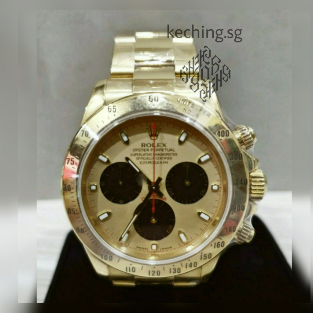 gold rolex watch singapore